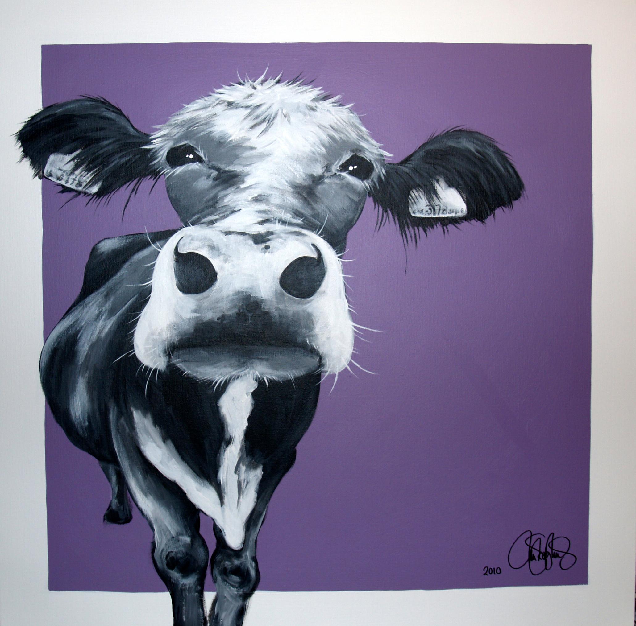 Orignalmålning i akryl på uppspänd canvas. 90x90cm. Sold.