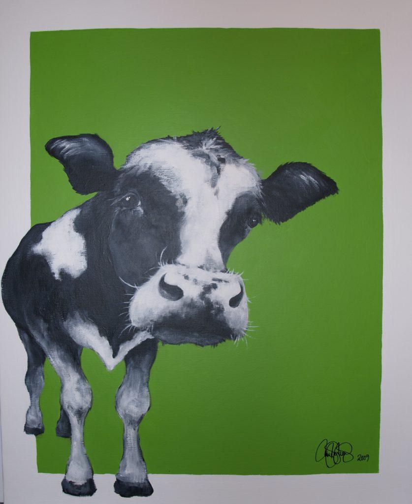 Akrylmålning i original på uppspänd duk. 80x100cm. Såld