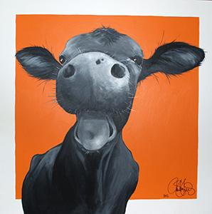 Originalmålning i akryl. 90x90cm. Såld