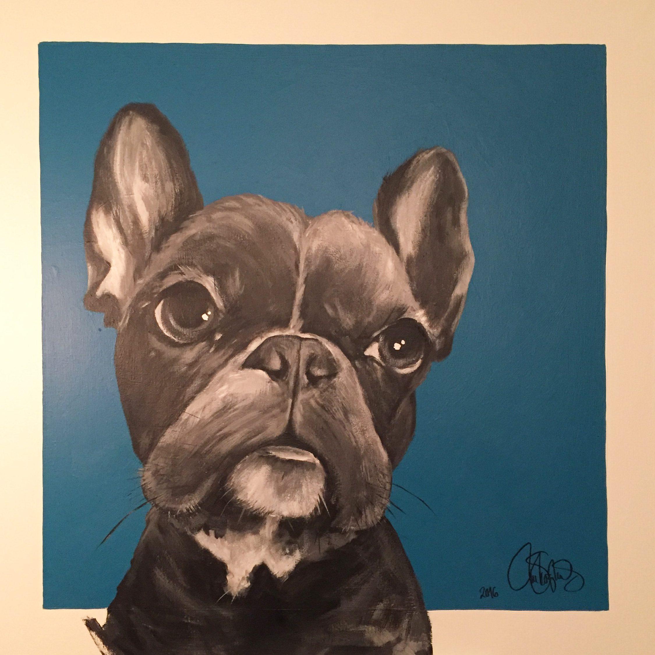 Originalmålning i akryl. Till salu 6900sek