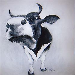 Akrylmålning i original. 120x120cm. Såld
