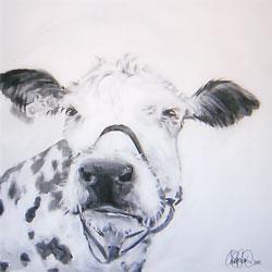 Akrylmålning i original. 70x70cm. Sold