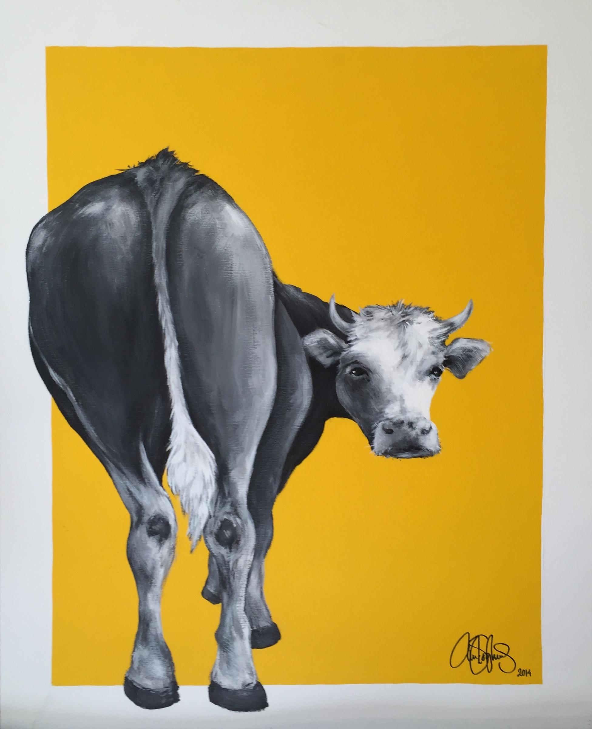 Akrylmålning i original målad på uppspänd canvasduk. 80x100cm. Till salu för 6900sek.