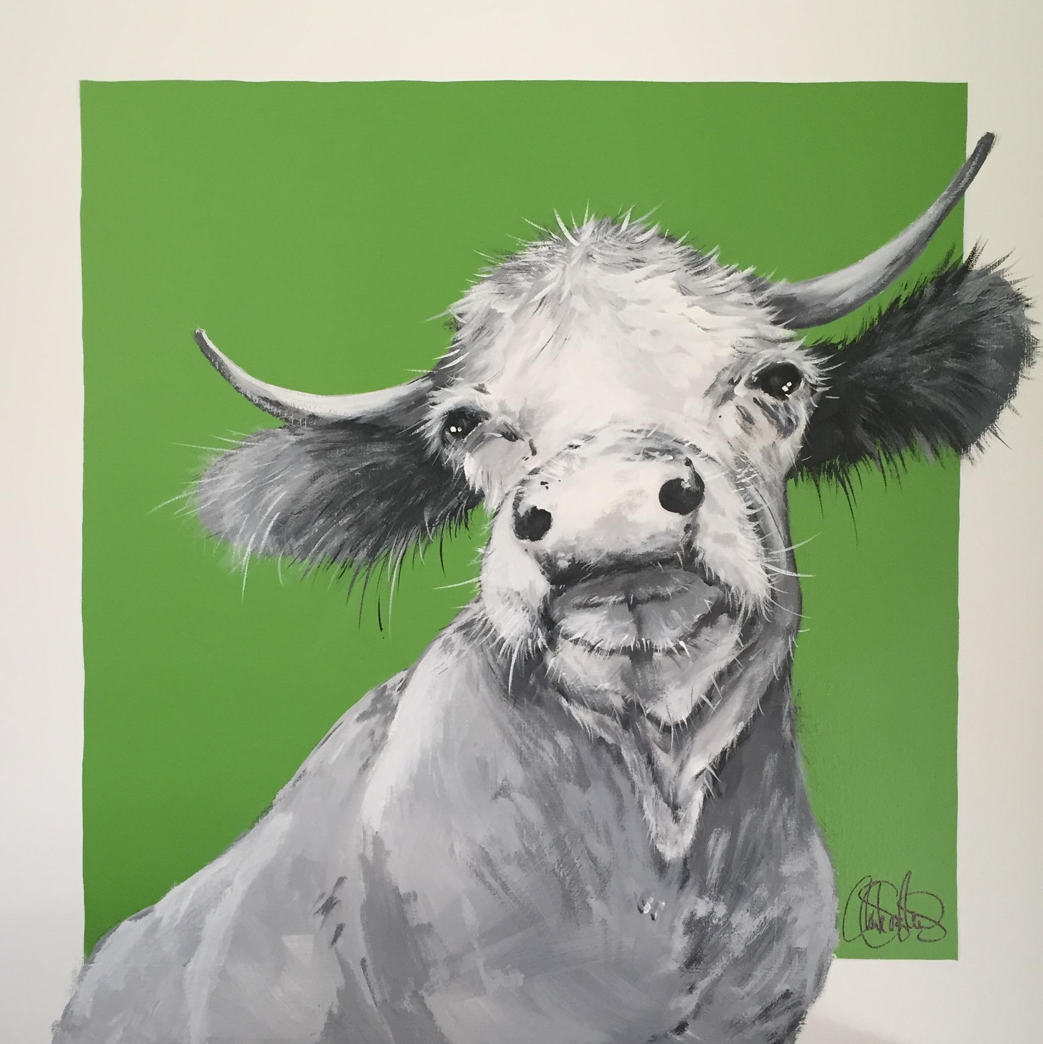 Originalmålning i akryl på uppspänd canvasduk. 70x70cm. Till salu för 4900sek
