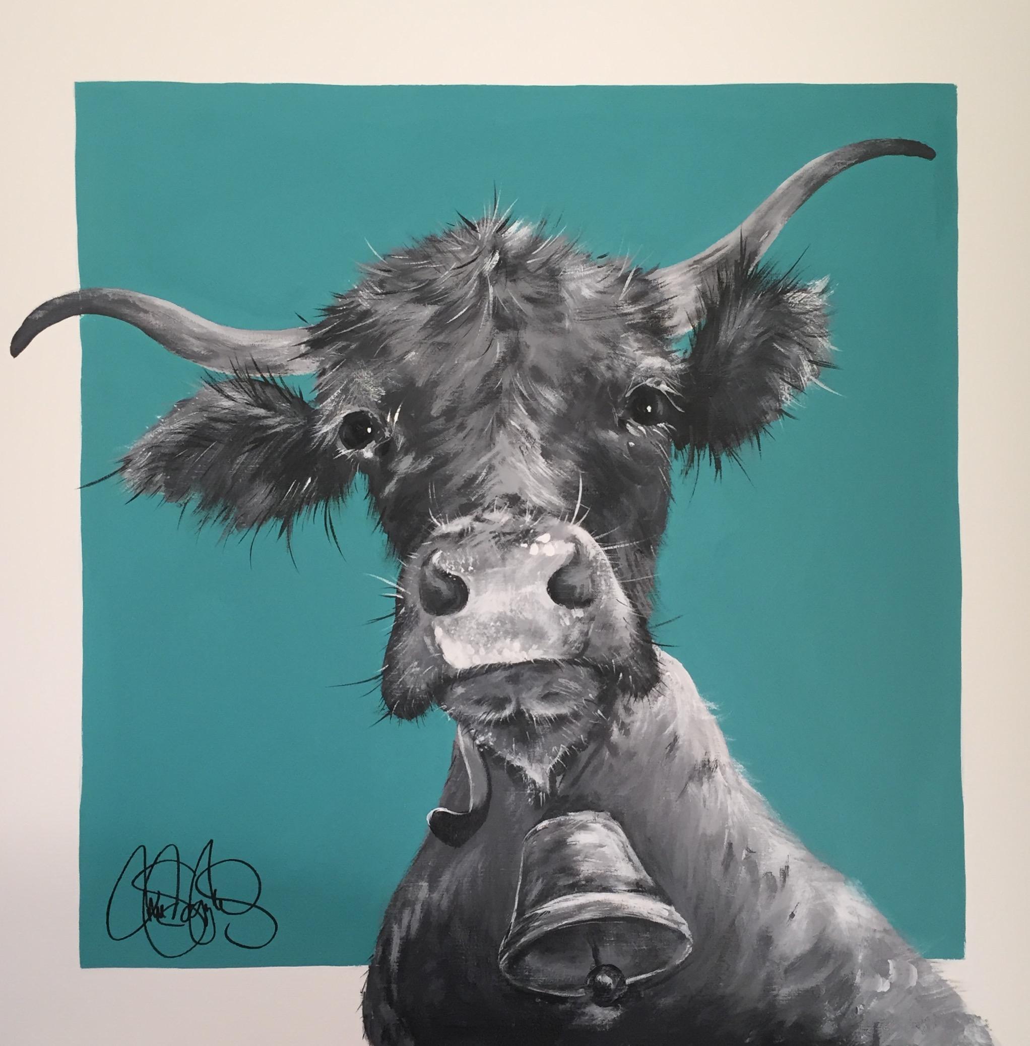 Originalmålning i akryl på uppspänd canvasduk. 70x70cm. Till salu för 4900sek.