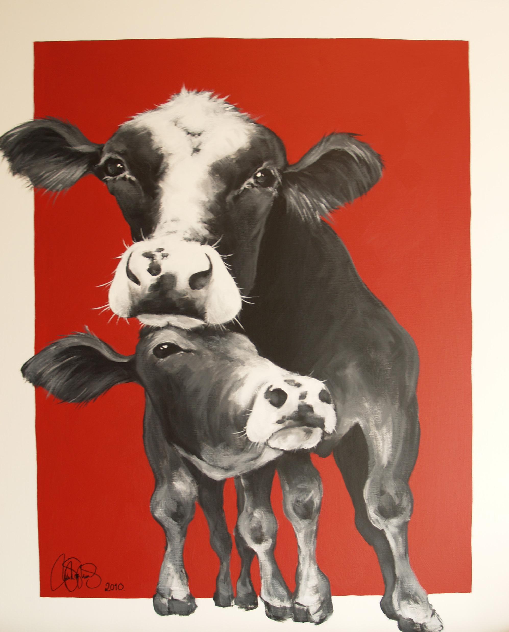Originalmålning i akryl på uppspänd duk. 80x100cm. Såld