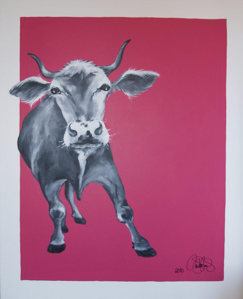 Originalmålning i akryl. 80x100cm. Såld.