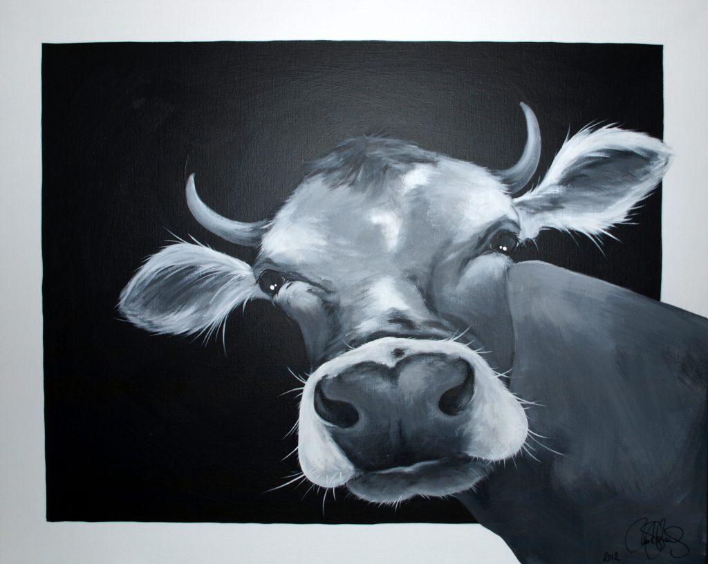 Originalmålning i akryl. 80x100cm. Såld