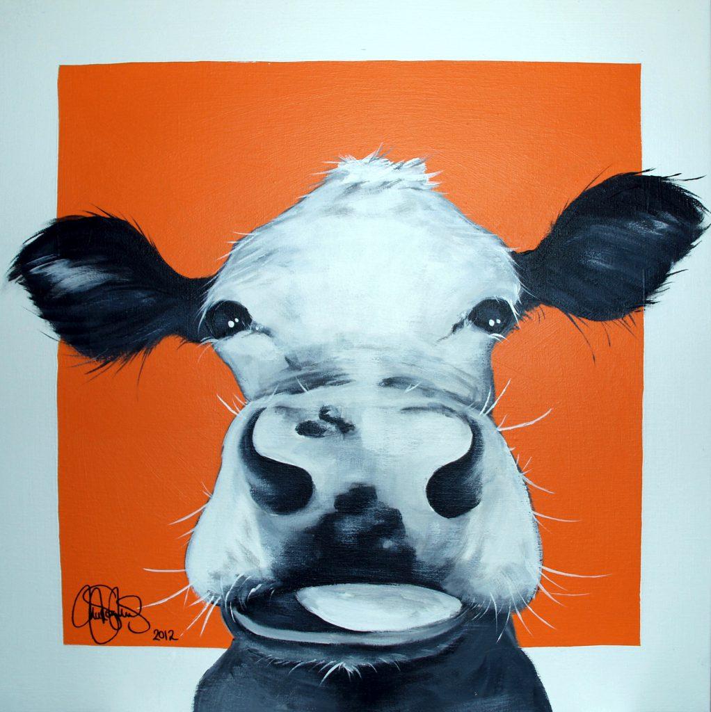 Akrylmålning i original på uppspänd duk. 50x50cm. Till Salu för 3500sek.