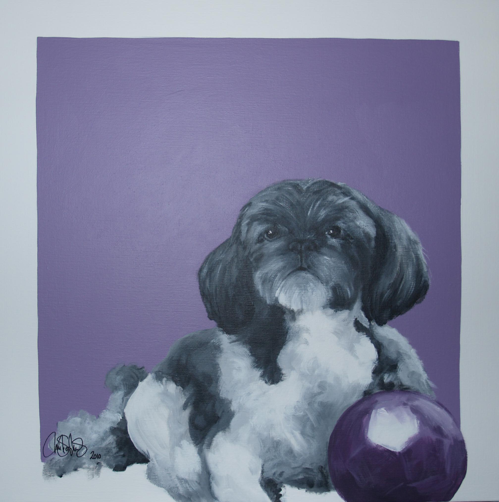Akrylmålning i original målad på uppspänd canvasduk. 70x70cm. Såld.