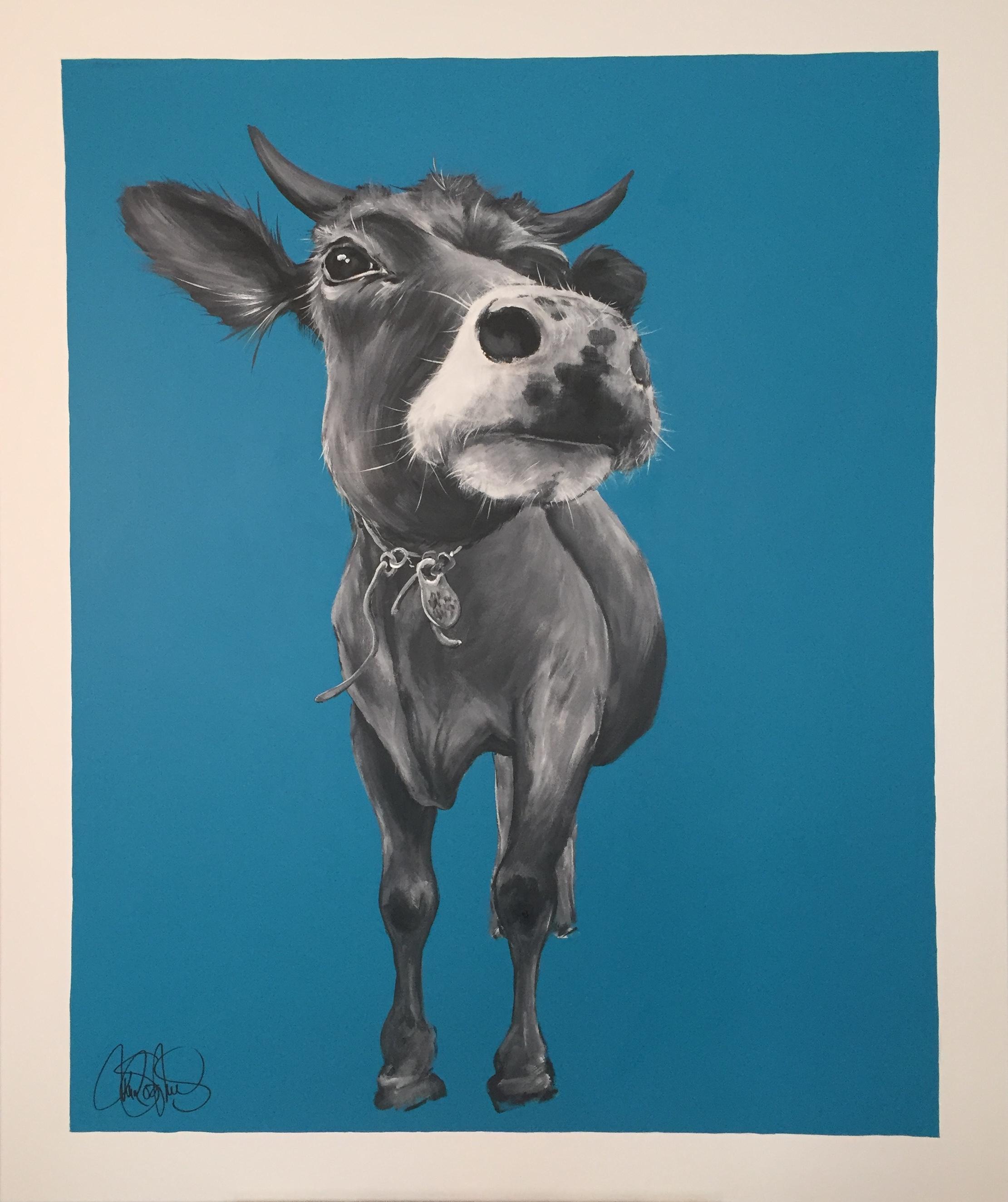 Originalmålning i akryl på canvas