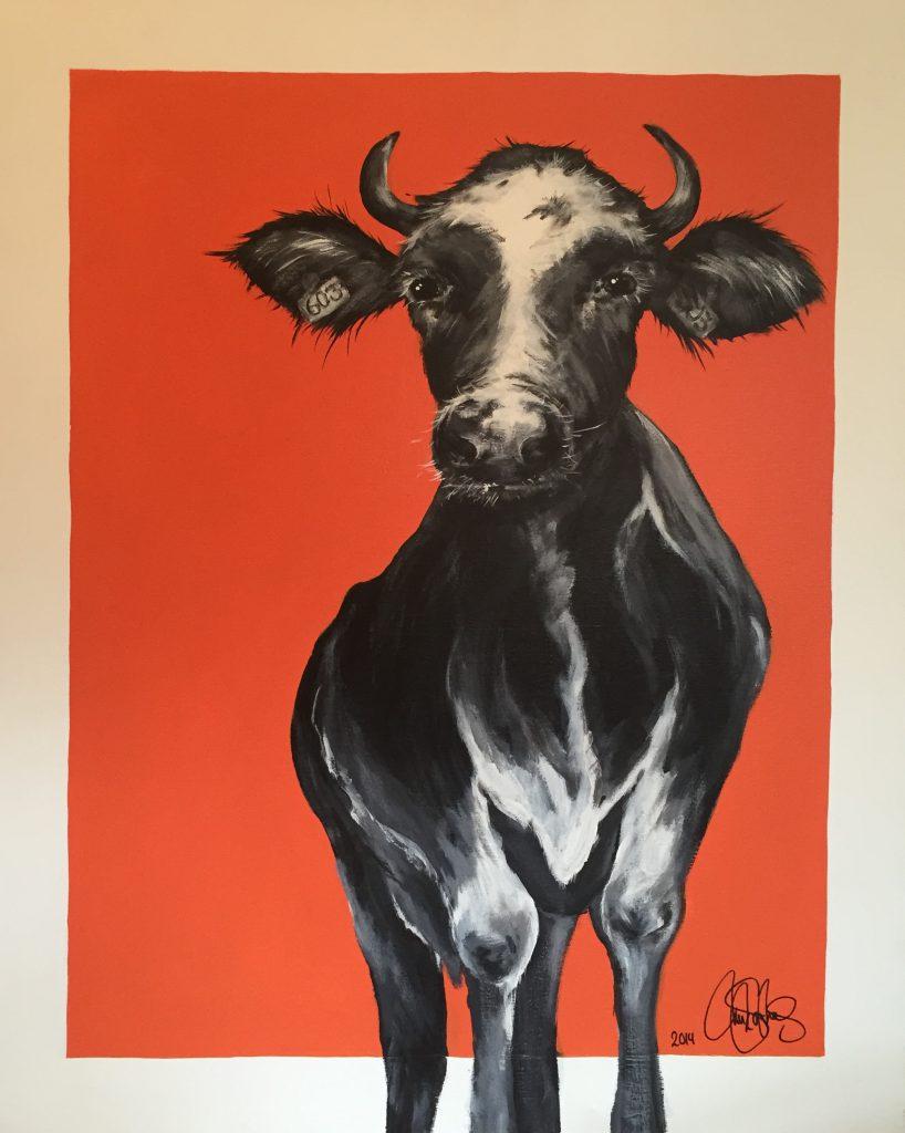 Originalmålning i akryl på uppspänd canvasduk. 80x100cm. Till salu för 6900sek.