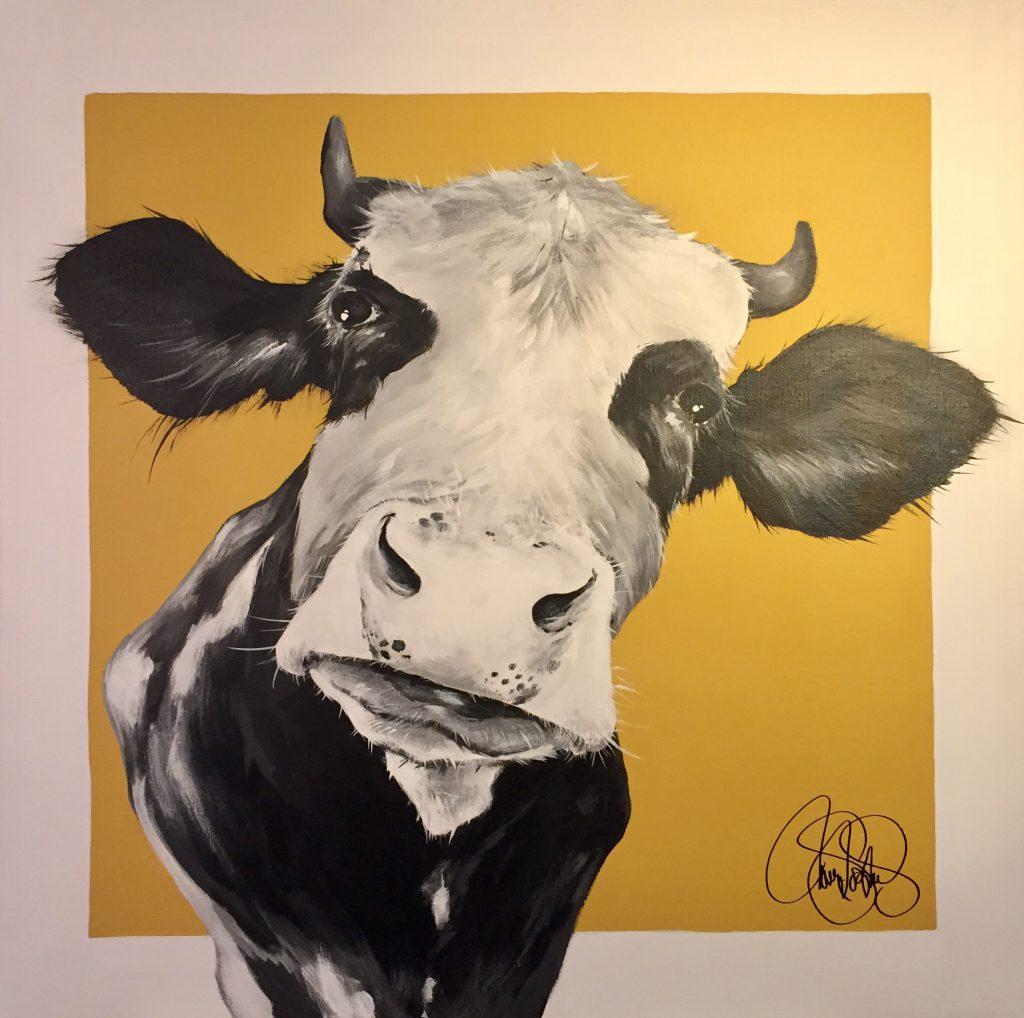 Akrylmålning i original. 70x70cm. Till Salu för 4900sek.